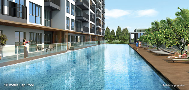 Jewel @ Buangkok 50m lap pool
