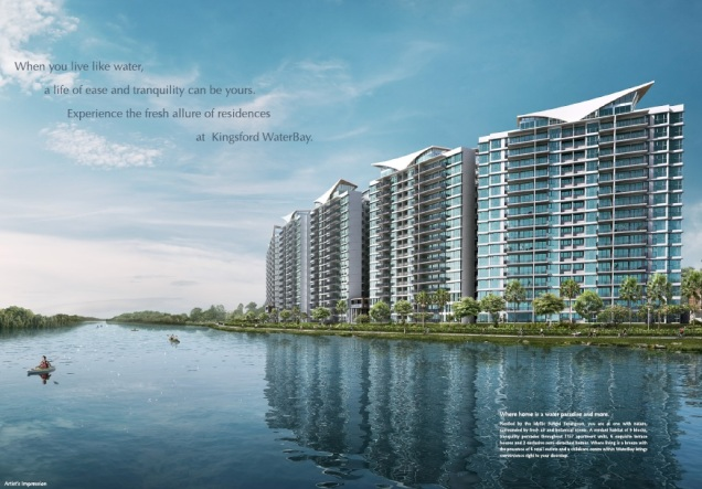 Kingsford Waterbay artist impression