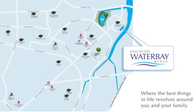 Kingsford Waterbay location map