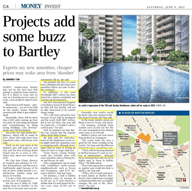 Projects Add Buzz To Bartley