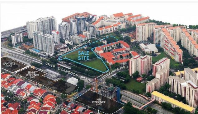 The andrew residences aerial view