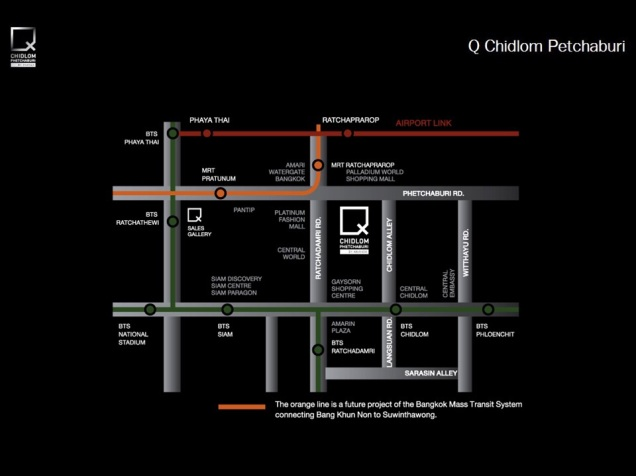 Q Chidlom location map