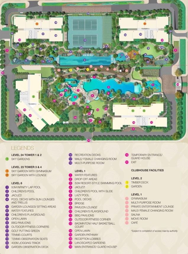 estella heights site plan
