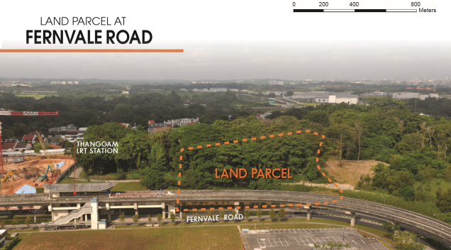 fernvale road location map