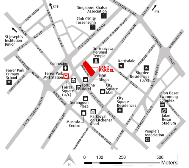 perumal road location map