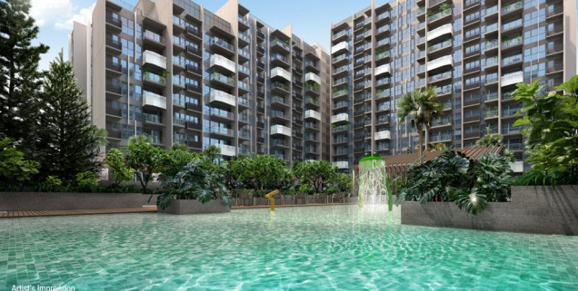 alps residences swimming pool