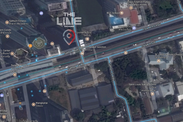 THE-LINE-SATHORN location map